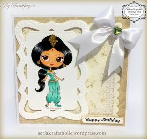 Princess Jasmine by Sarahjayne